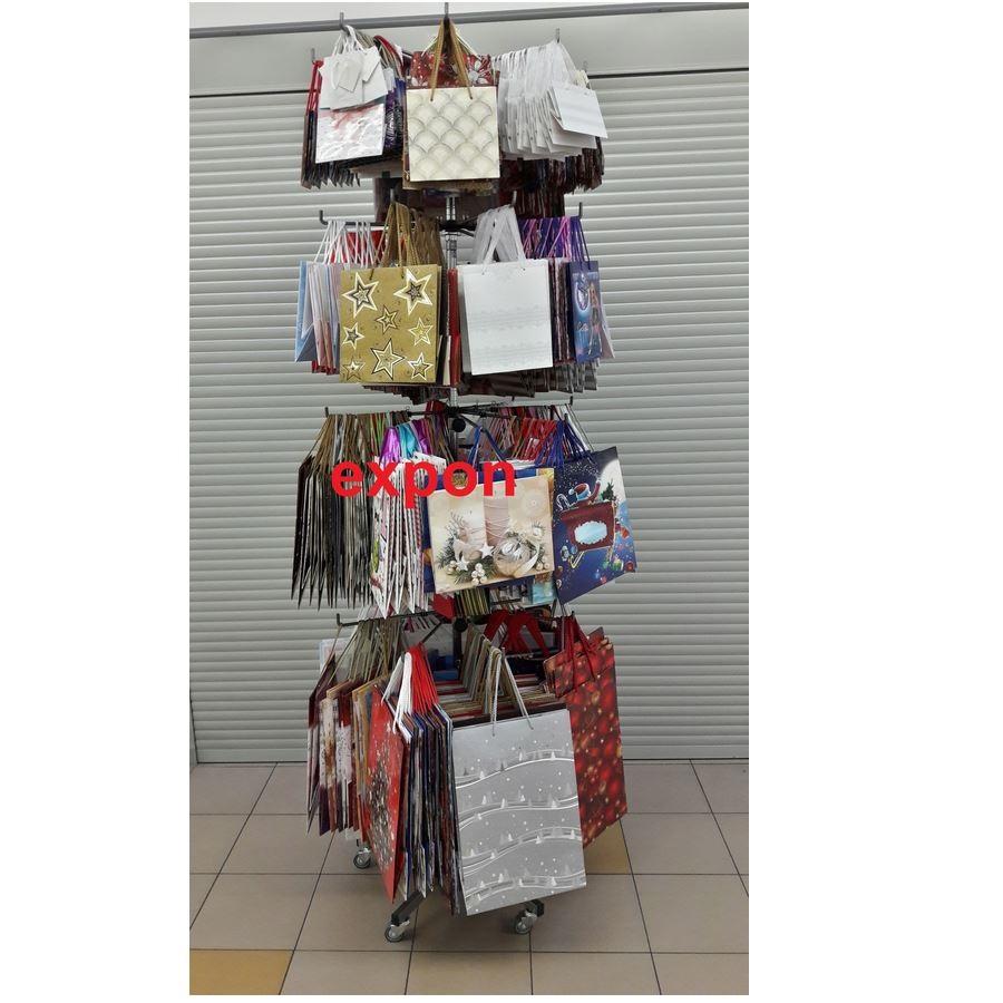 Stojak na torby papierowe